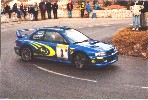 2000 Monte Carlo Rally - Order ref. RBS13